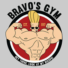 JOHNNY BRAVO PARODY *BRAVO'S GYM* GREAT GIFT RARE DESIGN T-Shirt *MANY OPTIONS