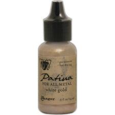 Ranger Vintaj Patinas Metallics .5oz-White Gold