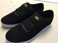 New CIRCA shoes Spade Black/yellow Skate Size 12