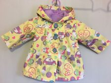Baby Girls Disney Minnie Mouse & Daisy Duck Spring Summer Jacket With Hood 3-6m