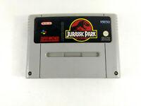 Jeu Super Nintendo SNES en loose  Jurassic Park  FAH  Envoi rapide suivi