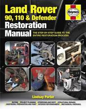 LAND ROVER DEFENDER RESTORATION BOOK 90 110 NINETY Haynes Owners Manual Handbook