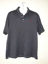 Payne Stewart Short Sleeve Logo Polo Golf Shirt Polyester charcoal  XLARGE (A1,)