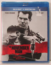 The November Man Blu-ray NEW! Great Pierce Brosnan spy action. No digital copy