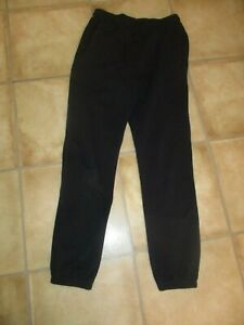 *M&S* BOYS DARK NAVY TRACK SUIT BOTTOMS -CASUAL-PE- AGE 13-14 YEARS