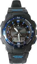 Casio Compass Thermometer Moon Sunset Sunrise Data Watch SGW-500H-2B New