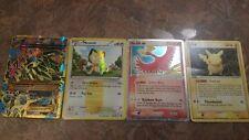 Shiny Primal Groundon EX, Meowth Secret Rare, Ho-oh ex (17/17), Ditto Pikachu