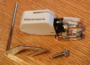 EVEN FEED WALKING FOOT WITH GUIDE & SCREW FOR LOW SHANK KENMORE SEWING MACHINES