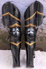 Gothic 18g Steel Plates Armour Leg Protection Medieval Collectibles Replica S2