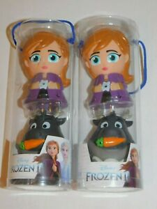 Frozen Anna Sven Water Squirter Toys TWO Sets Disney