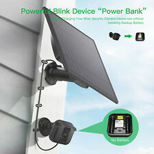 Solar Power Panel Blink XT Wall Mount Outdoor Security Camera Weatherproof USA