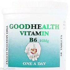 360 TABLETS, VITAMIN B6 - 12 MONTHS SUPPLY - FREE POST