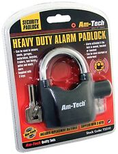 Am-Tech Heavy Duty Alarm Padlock - Sheds - Motorbikes - Bike Alarm