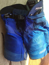 Bauer/ Nike 6000 Jr Large Hockey Pants- Royal Blue