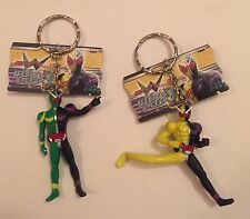 Banpresto Japan: Masked Kamen Rider Action Figure Keychain LOT! Rare US SELLER!!