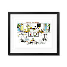 Calvin and Hobbes The World Is Not So Bad Poster Print