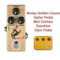 MOSKY Golden Horse Guitar Overdrive Effect Pedal Full Metal Shell True Bypass