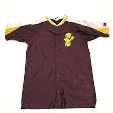 VINTAGE Wilson Mountain Pointe Pride Basketball Jersey Warm Up Shirt Snap Button