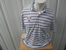 VINTAGE POLO GOLF BY RALPH LAUREN 2016 RYDER CUP BLUE/WHITE  SEWN LARGE SHIRT
