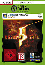 Resident Evil 5 [Software Pyramide] - [PC] [Video Game]