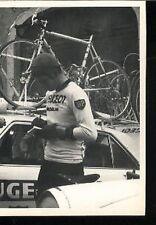 FERDINAND BRACKE cp Signée cyclisme autographe PEUGEOT Cycling WORLD CHAMPION