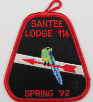 OA Lodge 116 Santee eX1992-1, Fdl; Spring Fellowship [D1757]