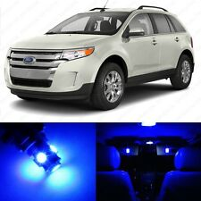 8 x Ultra Blue LED Interior Light Package For 2011 - 2013 Ford Edge