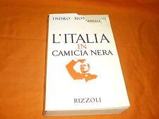 INDRO MONTANELLI L'ITALIA IN CAMICIA NERA RIZZOLI
