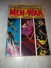D.C's Triple Battle-Skies Comic - MEN OF WAR - No. 111 September- October 1965