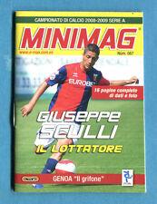 MINIMAG 2008-2009 N. 087 - SCULLI - GENOA