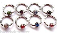 Gem Bcr - Cbr Captive Ring - Body Jewellery