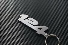 Para Fiat 124 KEYRING LLAVERO SCHLÜSSELRING Porte-clés Coupé Convertible De Araña