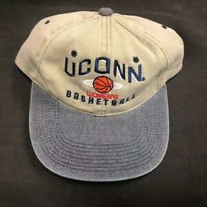NCAA Uconn Womens Basketball Small Logo Adjustable Buckled Hat Cap NEW