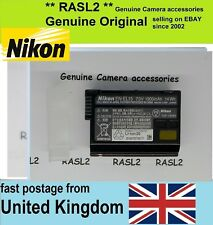 Genuine Original NIKON EN-EL15 Battery Pack D500 D610 D750 D810 D7200 D7100 D800