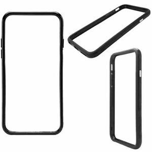 "Apple iPhone 4 /6 4.7"" Shockproof Luxury Ultra Slim Bumper TPU Black Case Cover"