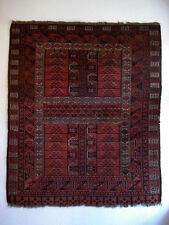Antik Teppich Brücke Hatschlu Hajloo Rug aus Turkmenistan ca. 182 x 152 cm