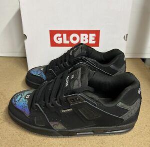 Globe Sabre Skate Trainers Black 3M Snake Size 13 UK 48 EU Brand New Boxed
