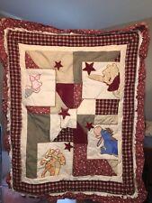 Classic Disney Winnie the Pooh Baby Crib Comforter Bedding Set 8 pieces