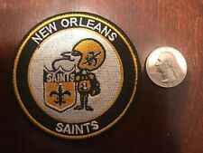 New Orleans Saints embroidered vintage Iron on Patches Patch 3� X 3�