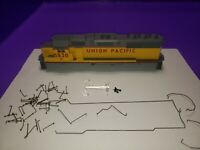 CASING RAILINGS ONLY UNION PACIFIC HO SCALE ATHEARN GP60 LOCOMOTIVE CASING #5838