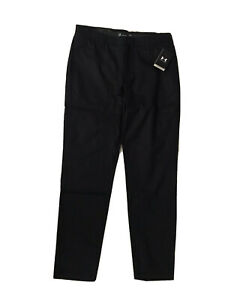 MENS UNDER ARMOUR 'STORM' PERFORMANCE CHINO TAPER GOLF TROUSERS -34/32-LAST ONES