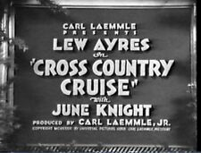 CROSS COUNTRY CRUISE 1934 Lew Ayres, June Knight