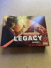 Pandemic board game Legacy season 1 red