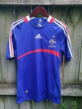 FRENCH NATIONAL SOCCER TEAM ADIDAS JERSEY MENS SMALL BLUE FFF FRANCE
