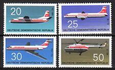 Germany / DDR - 1969 Airplanes - Mi. 1524-27 MNH