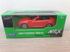 Welly NEX Mercedes-Benz SLK350, Red, No. 52265 - 1:64 1/64 1:60 1/60