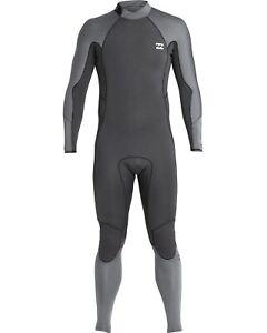 BILLABONG Men's 403 FURNACE ABSOLUTE COMP BZ Wetsuit - ASH - Medium - NWT