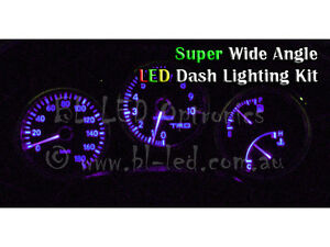Purple LED Dash Cluster Light Kit Fits Hyundai Excel & Accent X1 X2