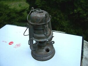 Feuerhand 176 LU Air Protection Petroleum Lamp Lantern Wehrmacht with orig.Glass