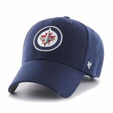 Winnipeg Jets Cap NHL Eishockey 47Brand Kappe Klettverschluß Verstellbar